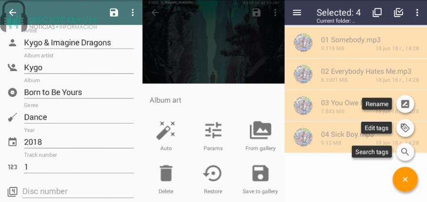 AutoTagger permite la edición simultánea de distintos archivos