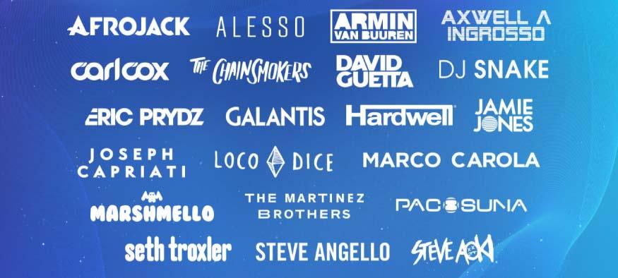 Lineup Ultra Europe 2018