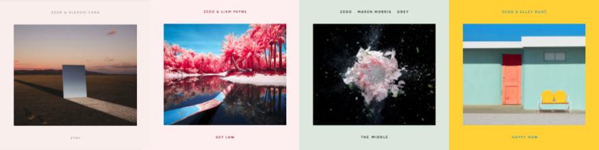 Sencillos de Zedd