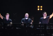 Swedish House Mafia coloca posters Pop Up en Estocolmo