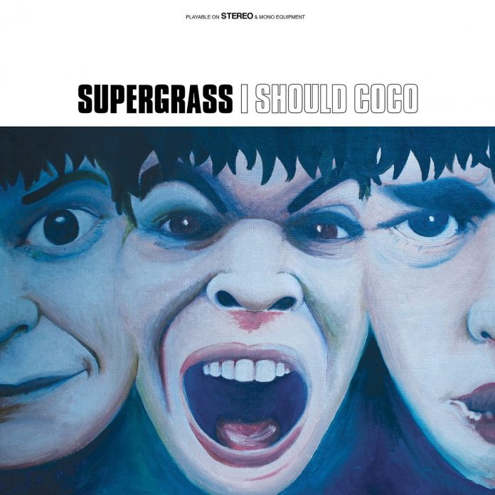 supergrass-i-should-coco- portada del album supergrass